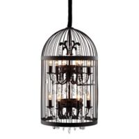 Zuo® Canary 12-Light Ceiling Lamp in Black