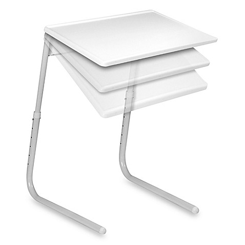 Table-Mate® The Adjustable Table in White