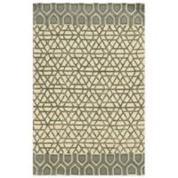 Rizzy Home Eden Harbor Geometric 5-Foot x 8-Foot Area Rug in Ivory