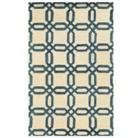 Rizzy Home Eden Harbor Links 8-Foot x 10-Foot Area Rug in Ivory