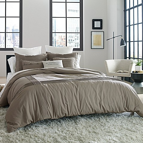 Kenneth Cole Reaction Home Structure Duvet Cover Bed