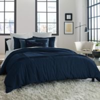 Kenneth Cole Reaction Home Structure Twin Duvet Cover in Indigo