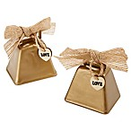 Kate Aspen® Country Cowbell Kissing Bell (Set of 6)