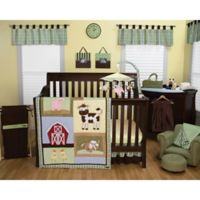 Trend Lab® Baby Barnyard 3-Piece Crib Bedding Set