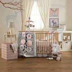 Living Textiles 4-Piece Crib Bedding Set