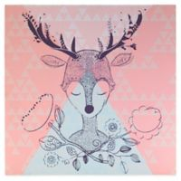 Lolli Living™ by Living Textiles Mix & Match Deer Canvas Wall Art in Pink