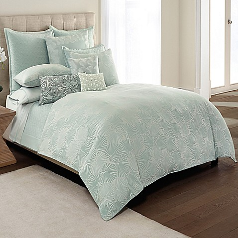 Catherine Malandrino Jade Reversible Duvet Cover In