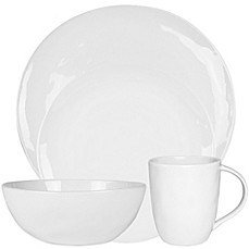 Everyday Whiteu0026reg; by Fitz and Floydu0026reg; Organic-Shaped Dinnerware Collection  sc 1 st  Bed Bath u0026 Beyond & Everyday White® by Fitz and Floyd® Organic-Shaped Dinnerware ...