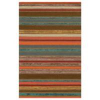 Rizzy Home Eden Harbor Stripes 3-Foot x 5-Foot Area Rug in Multicolor