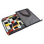 Picnic Time® Vista Blanket Tote in Grey with Geometric Print