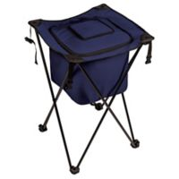 Picnic Time® Sidekick Portable Standing Beverage Cooler in Navy