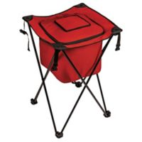 Picnic Time® Sidekick Portable Standing Beverage Cooler in Red