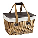 Picnic Time® Canasta Picnic Basket in Natural Finish