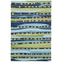 Trans-Ocean Ravella Fiesta 3-Foot 6-Inch x 5-Foot 6-Inch Indoor/Outdoor Area Rug in Blue