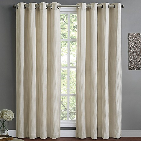 Wyatt Lined Window Curtain Panel Bed Bath Beyond