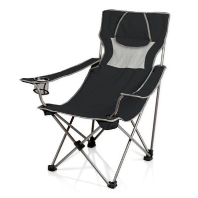Picnic Time® C&site C&ing Chair in Black/Grey  sc 1 st  Bed Bath u0026 Beyond & Buy Tailgate Chairs from Bed Bath u0026 Beyond