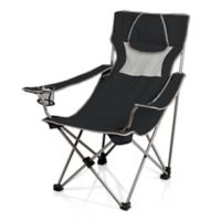 Picnic Time® Campsite Camping Chair in Black/Grey
