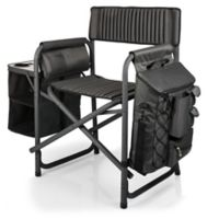 Picnic Time® Fusion Camping Chair in Dark Grey/Black