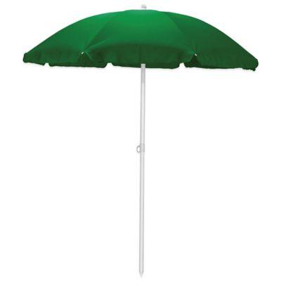 Buy 6 Foot Cabana Stripe Beach Umbrella In Green Blue From