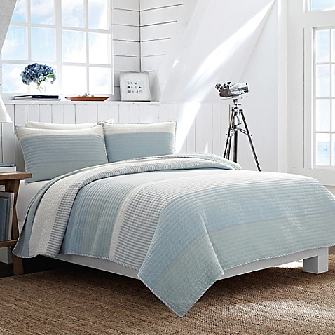 Awesome Nautica® Cliffwood Quilt In Seafoam