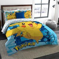 Pokemon Big Pika 3-Piece Comforter Set in Multi
