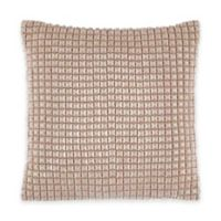 Catherine Malandrino Metro Blanca Square Throw Pillow in Ivory