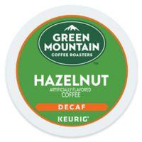 Keurig® K-Cup® Pack 18-Count Green Mountain Coffee® Hazelnut Decaf Coffee