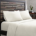 INK+IVY 300-Thread-Count Cotton Queen Sheet Set in White