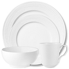 Royal Copenhagen Fluted Dinnerware Collection in White  sc 1 st  Bed Bath \u0026 Beyond & Royal Copenhagen Fluted Dinnerware Collection in White - Bed Bath ...