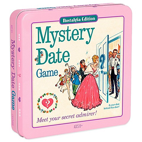 Mystery Date Board Game Characters The game mystery date was
