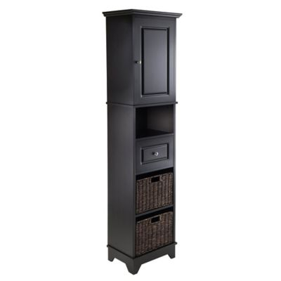 Marvelous Winsome Trading Wyatt Tall Cabinet