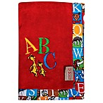 Dr. Seuss™ by Trend Lab® Alphabet Seuss Coral Fleece Receiving Blanket