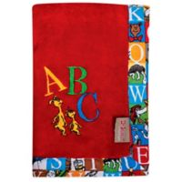 Dr. Seuss™ by Trend Lab® Alphabet Seuss Coral Fleece Receiving Blanket