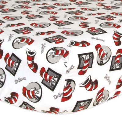 trend lab dr seuss cat in the hat crib bedding collection u003e trend