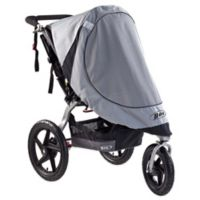 BOB® Strollers Revolution® and Stroller Strides® Single Stroller Sun Shield in Grey