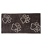 Muddy Buddy Paws 24-Inch x 48-Inch Doormat in Brown