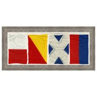 Nautical Flag Home Framed Wall Art