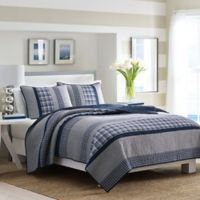 Nautica® Adelson Twin Quilt in Navy