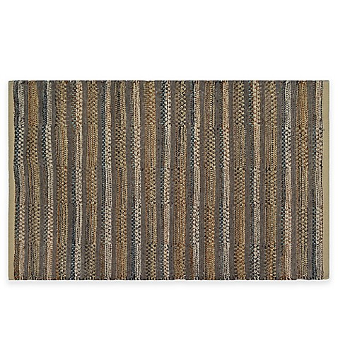Buy Chenille Stripe Area Rug From Bed Bath Amp Beyond