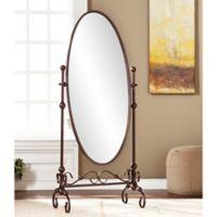Southern Enterprises Blythe Cheval Mirror in Bronze
