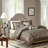 Madison Park Aubrey King Duvet Cover Set in Blue