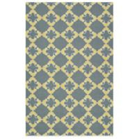 Kaleen Escape Tiles 2-Foot x 3-Foot Indoor/Outdoor Rug in Grey
