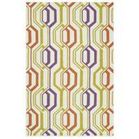 Kaleen Escape Mirrors 8-Foot x 10-Foot Indoor/Outdoor Rug in Multicolor