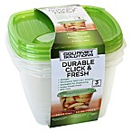 Click & Fresh™ 7.5-Cup Food Storage Containers with Vent Lids (Set of 3)
