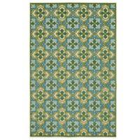 Kaleen A Breath of Fresh Air Tile Indoor/Outdoor Rug