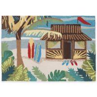 Trans-Ocean 30-Inch x 48-Inch Tiki Hut Door Mat