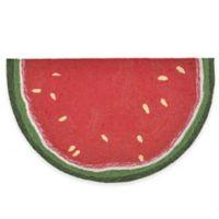 Trans-Ocean 24-Inch x 36-Inch Watermelon Slice Door Mat