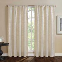 Mason 95-Inch Window Curtain Panel in Ivory