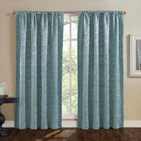 Mason 95-Inch Window Curtain Panel in Blue