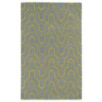Kaleen Revolution Geometric 8-Foot x 11-Foot Area Rug in Grey